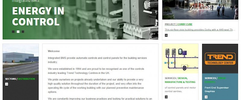 IBMS Integrated BMS Launch New Website